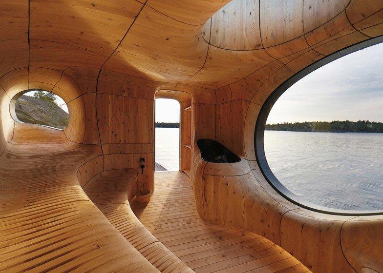 Sauna de cedro