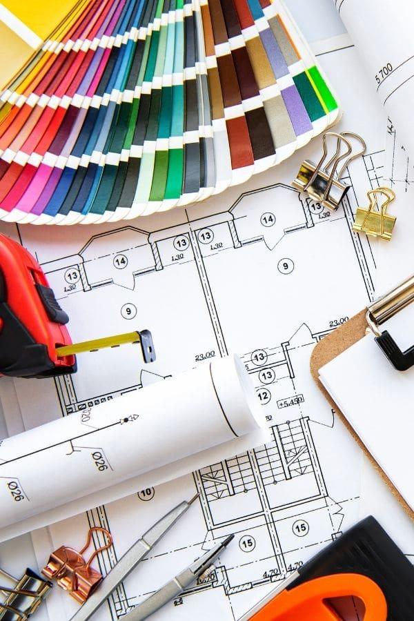 Diseño de interiores herramientas